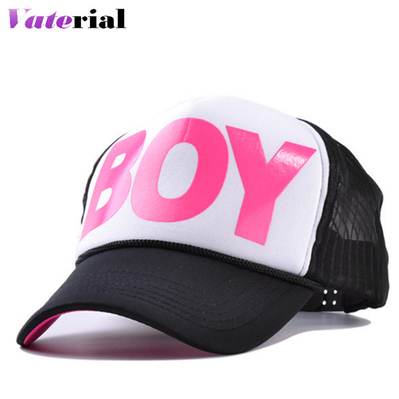 New print letters BOY duck tongue baseball cap fashion hat men and women summer hats adjustable VX1007(China (Mainland))