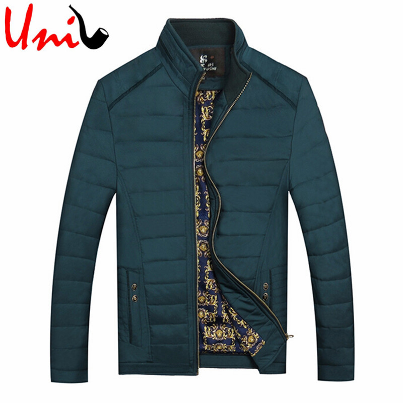 Men Jacket Warm Cotton Coats High Quality Fashion Casual Slim Windbreakers Classic Style 2016