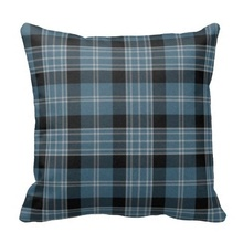 Traditional Clark Tartan Plaid Pillow Case (Size: 45x45cm) Free Shipping