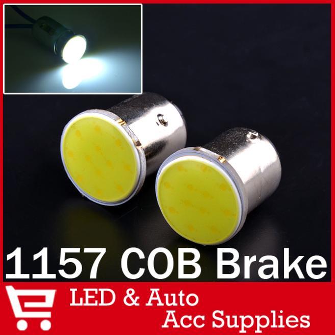 4X 1157 Bulb Led COB Light P21/5W Brake Tail Turn Signal Parking Backup Lamp White Red Blue - kartaf Authorized Store store