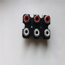 Buy 10pcs RCA female red/black female RCA connector TV AV socket audio socket for $6.35 in AliExpress store