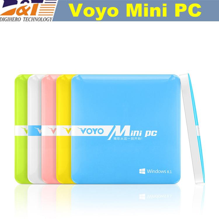2015 Voyo Mini PC Windows 8.1 2GB RAM 64GB ROM Intel Z3735 Quad Core Business Mini Computer with USB HDMI ultrathin Mini PCs(China (Mainland))