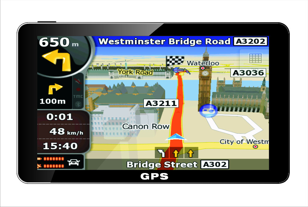 7 inch car truck gps navigation navigator built in 4GB free map tablet 7 inch gps navitel primo russia europe france australia(China (Mainland))