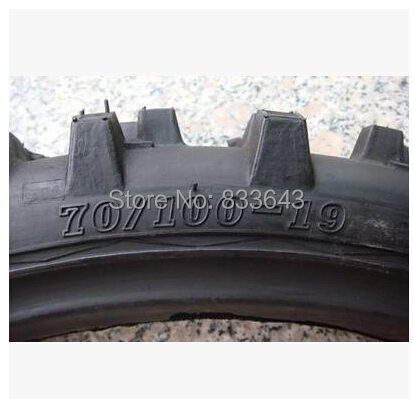 70, 100-19 YUX cross-country motorcycle particles tires wholesale(China (Mainland))