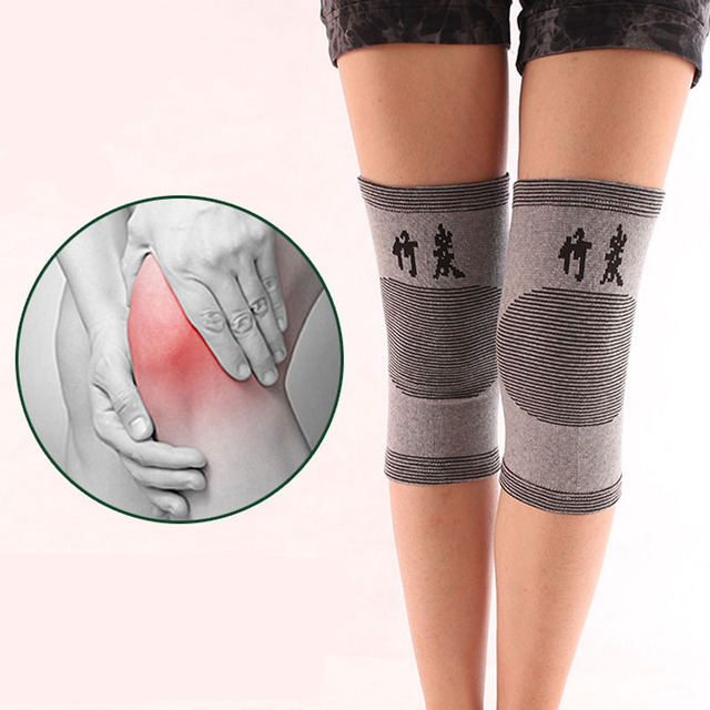 1 Piece Knee Protector Autumn and Winter Elasticity Breathable Knee Pads Relief Prevent Arthritis Knee Guard Sports Knee Support