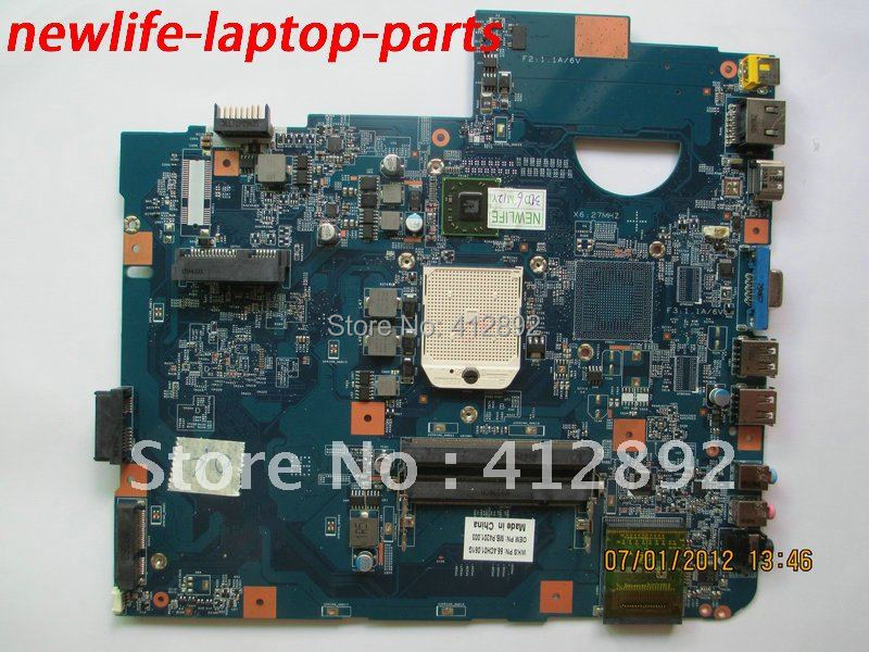 laptop motherboard 5536 MB.P4201.003 08252-2 JV50-PU 48.4CH01.021 integrated 100% work promise quality fast ship(China (Mainland))