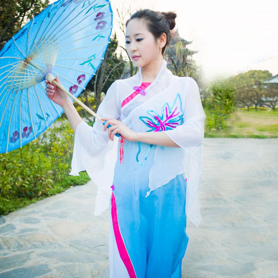 Chinois anciens vêtements Costume femmes classique de danse vêtements de scène de vêtements de danse(