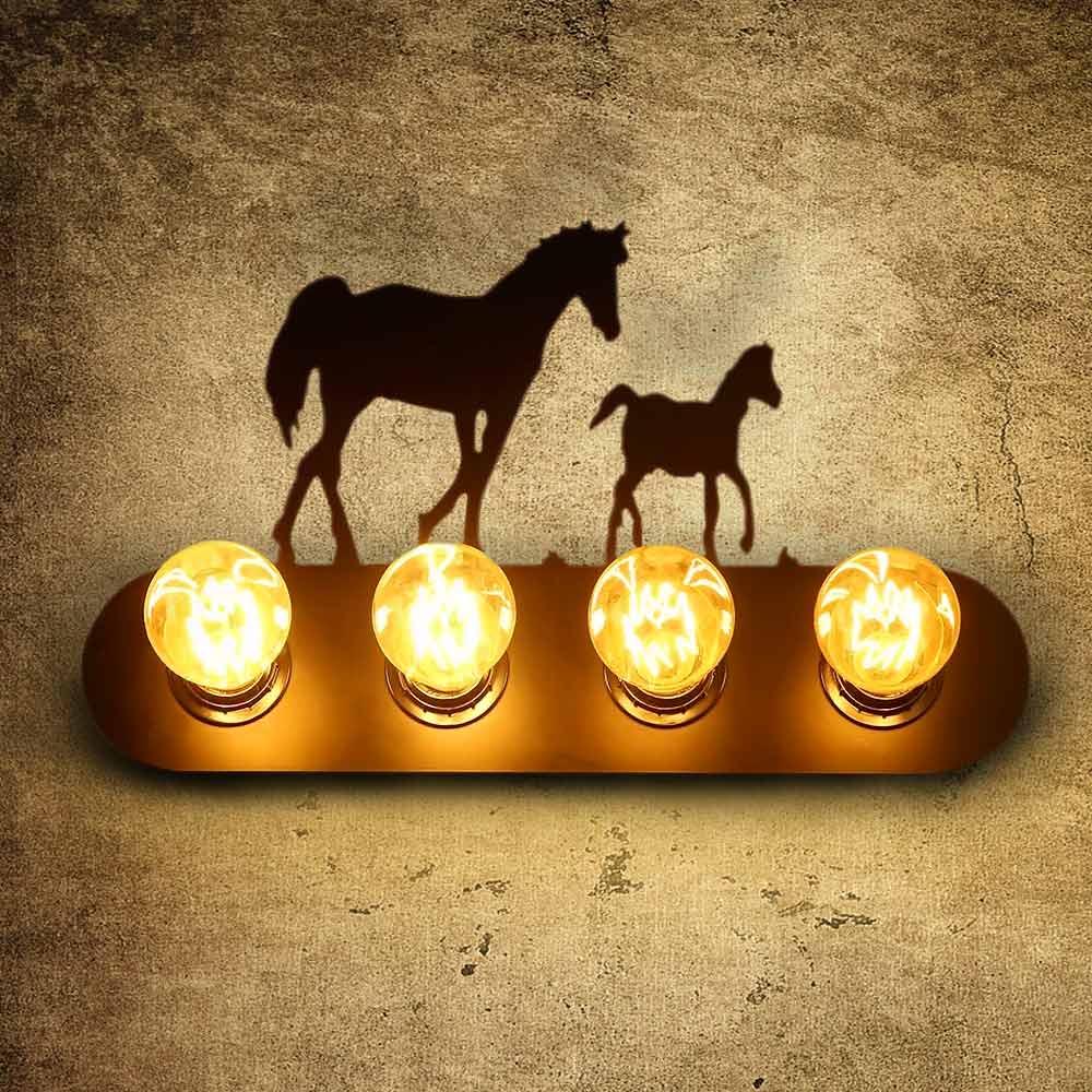 Cheval lampe promotion achetez des cheval lampe for Lampe de chevet cheval
