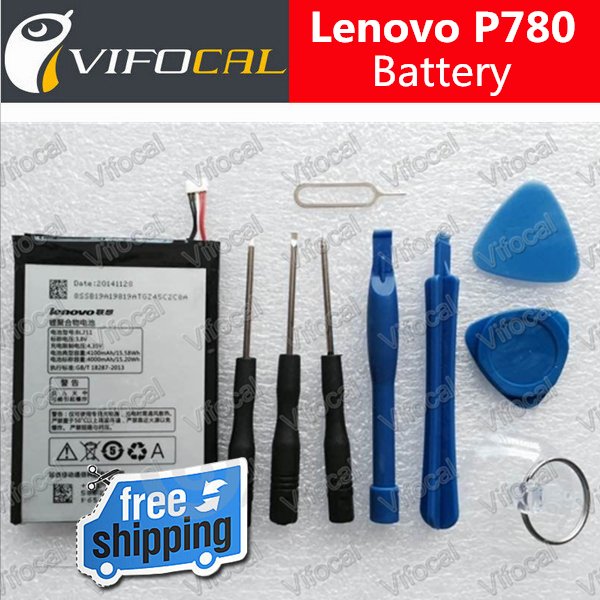 Lenovo P780 Battery 100 Original BL211 4000Mah Replacement Battery For cell phone Free Shipping Tracking Number