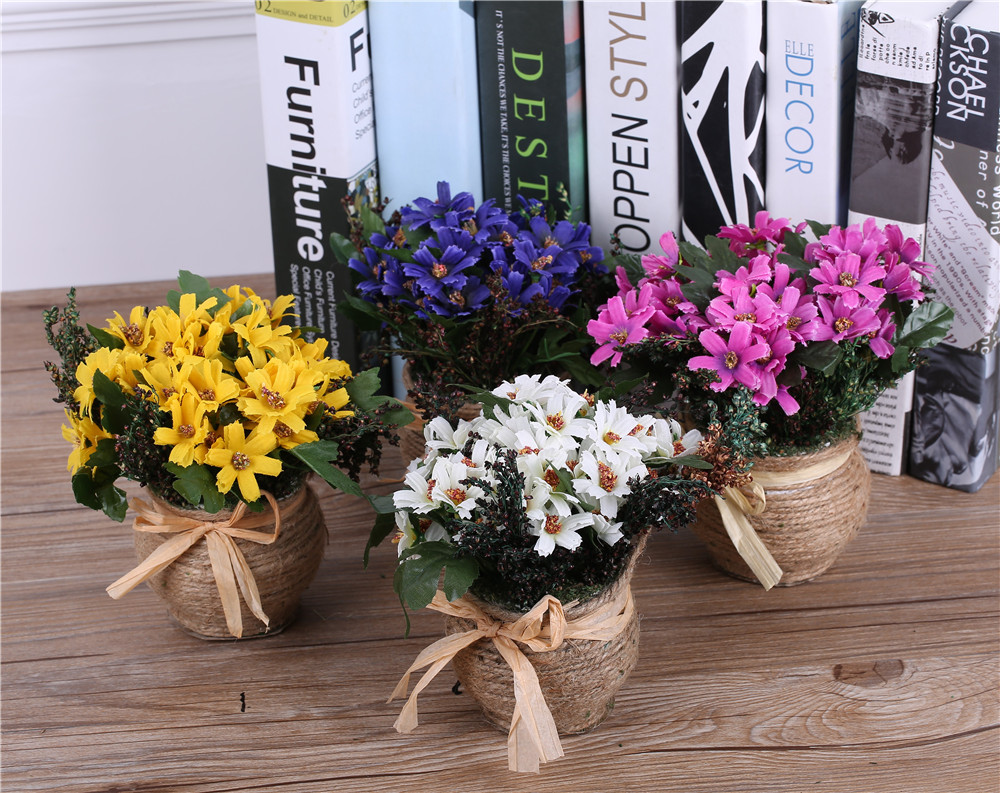achetez en gros arrangements de fleurs artificielles dans des vases en ligne des grossistes. Black Bedroom Furniture Sets. Home Design Ideas