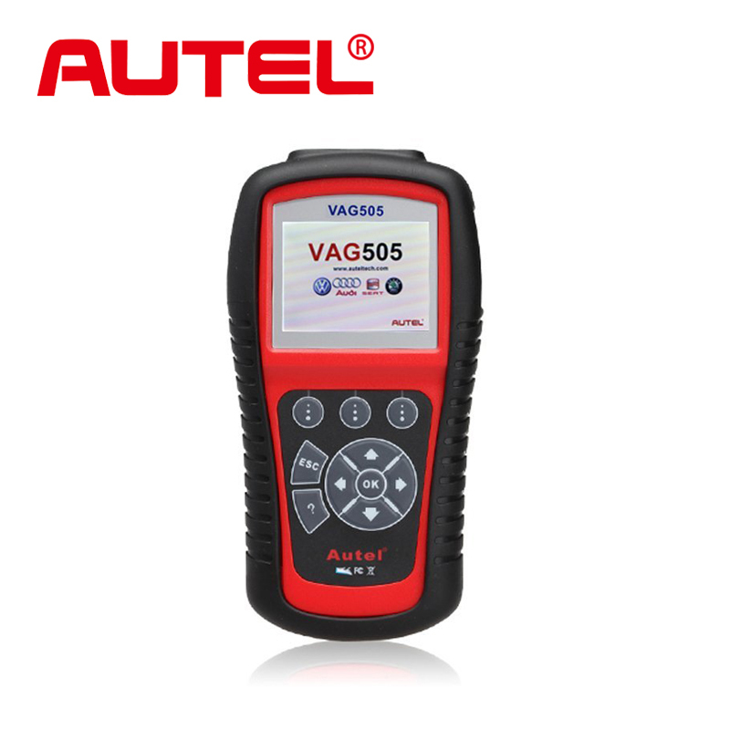 Autel MaxiService VAG505 Scan Tool Diagnostic OBDII Code Reader VAG 505 Troubleshooter codes free online updates(China (Mainland))