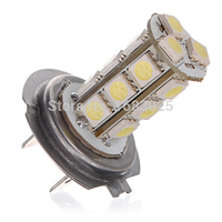 Big Promotion Pure White 5W H7 18 SMD LED Car Auto Light Source Driving Fog Headlight Bulb Lamp DC12V