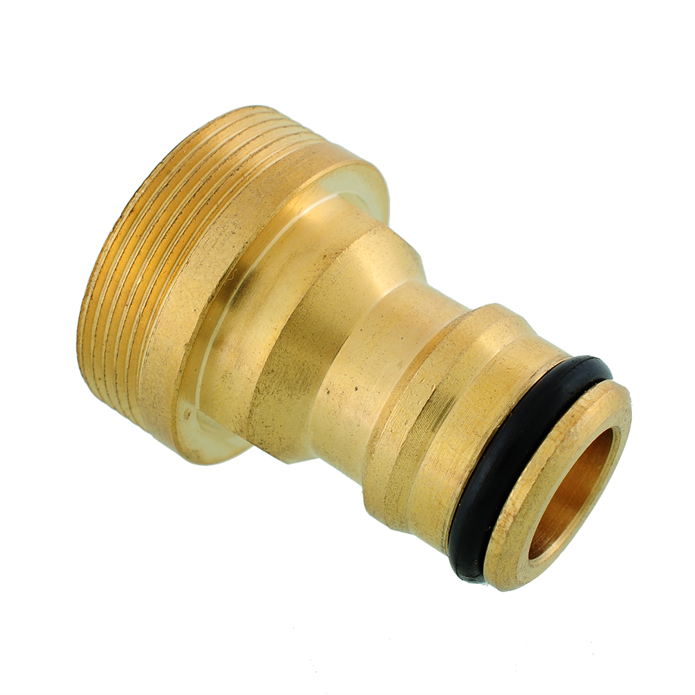 New hot solid brass threaded hose water pipe connector