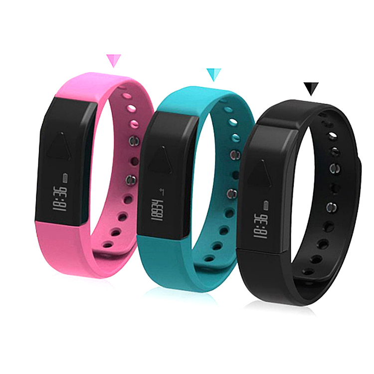 health wristband TI2541 chip Pedometer stop watch calorie step distance and time Bluetooth 4.0 data store 15days water proof 3m(China (Mainland))
