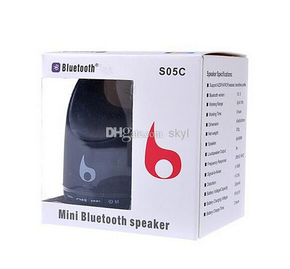 S05C wireless bluetooth speaker wireless microphone hands-free calls subwoofer card s11 s10 speaker DHL FREE buy best(China (Mainland))