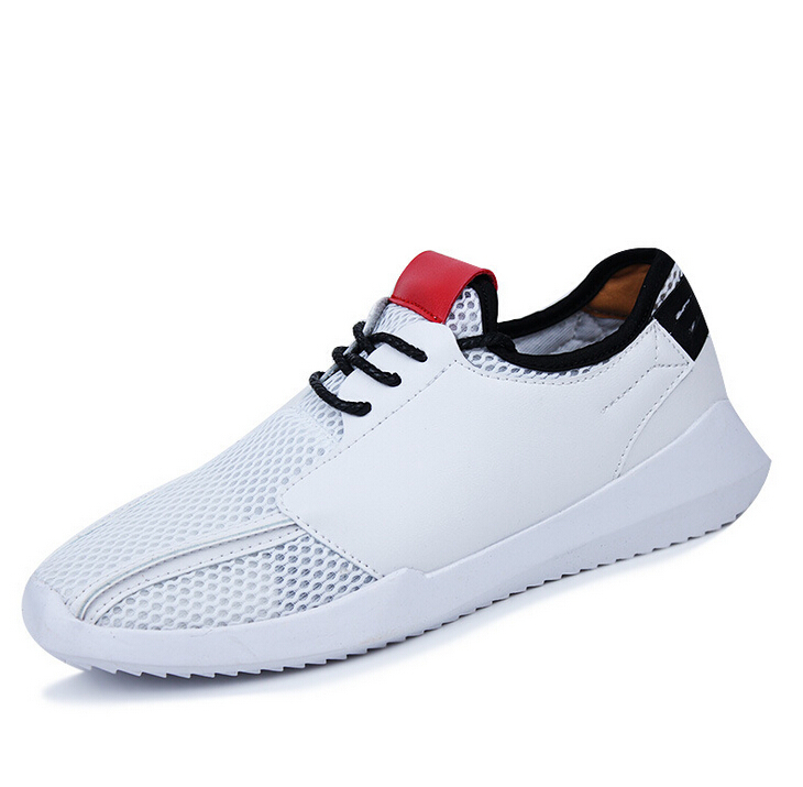 2015 new men's sports shoes comfortable, breathable, lightweight mesh running shoes, super-cool shoes free running shoes SHOX(China (Mainland))