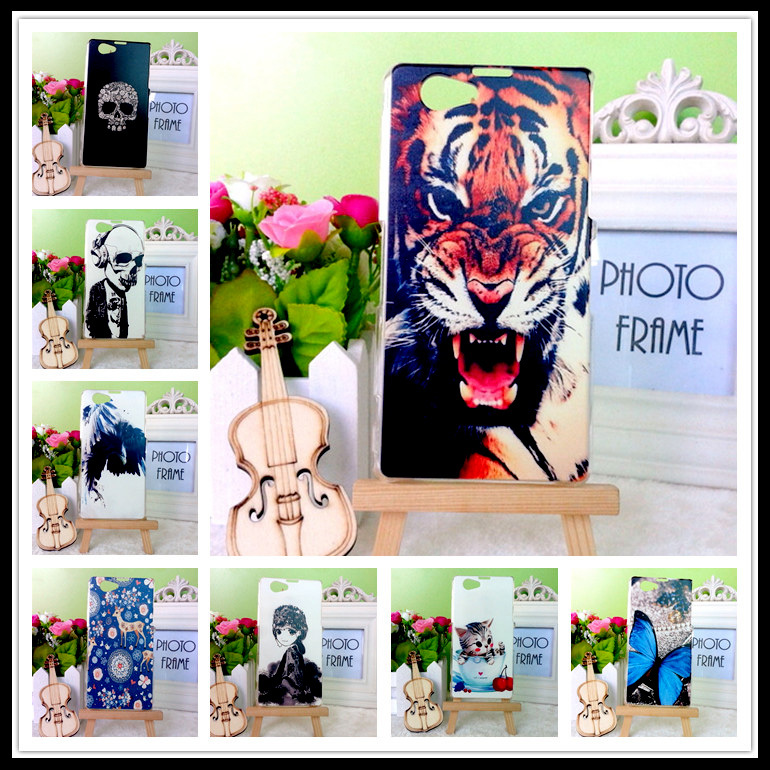 20 styles case cover Sony Xperia Z1 Mini D5503 Compact M51W colored painting hard tiger Support DIY - BOSO Technology Co., Ltd (ShenZhen store)