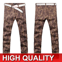 Designed Men's Jeans New Printing City Boy Fashion Pants 8 Sizes MJB026