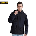 WHS 2016 New Men thin cotton Jacket autumn outdoor camping Windproof warm coat Male Fashion style