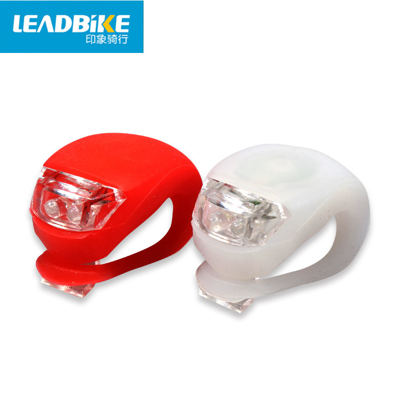 Leadbike New Waterproof Bicycle Front Head Light Flashlight 2 LED 3 Modes Bike Taillight Safety Warning Lamp Bike Accessories(China (Mainland))