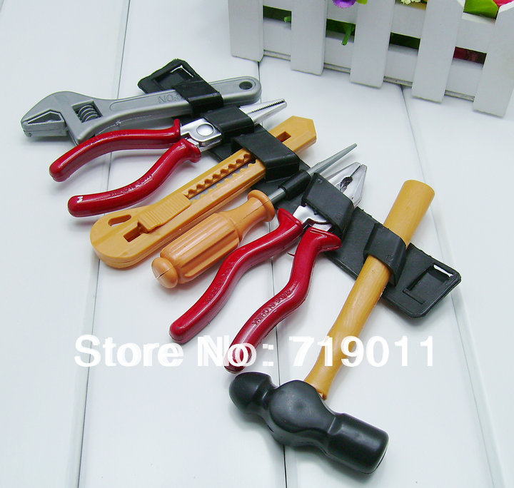Plastic Toy Tools : Free shipping children tool kit toy plastic toiletry