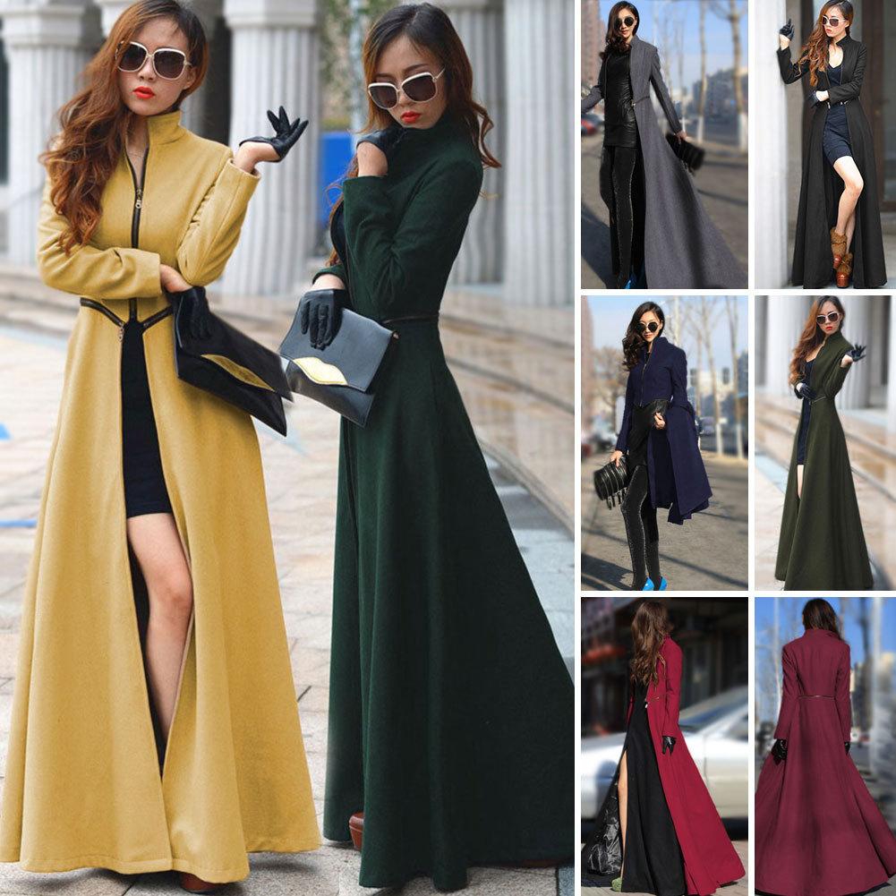 Wholesale Floor Length Coat Womens Winter Jackets And Coats Extra ...