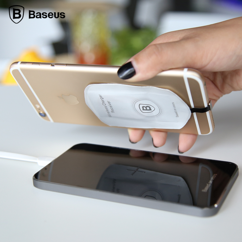 Original Baseus Wireless Charging Mobile Phone Qi Charger Transmitter Fast For Samsung note5/s6/LG/Nokia/HTC/Huawei Charger