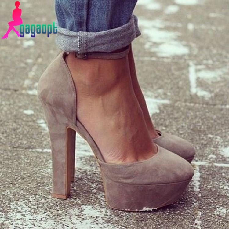 Gagaopt Gray work sexy wedding party Pumps 12cm High heel women high heels pumps free shipping(China (Mainland))