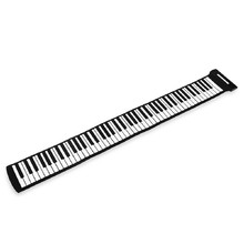88 Keys Soft Digital Roll-Up Folding 3D Keyboard Piano Electronic Toys Kids Play professional mucical instrument(China (Mainland))