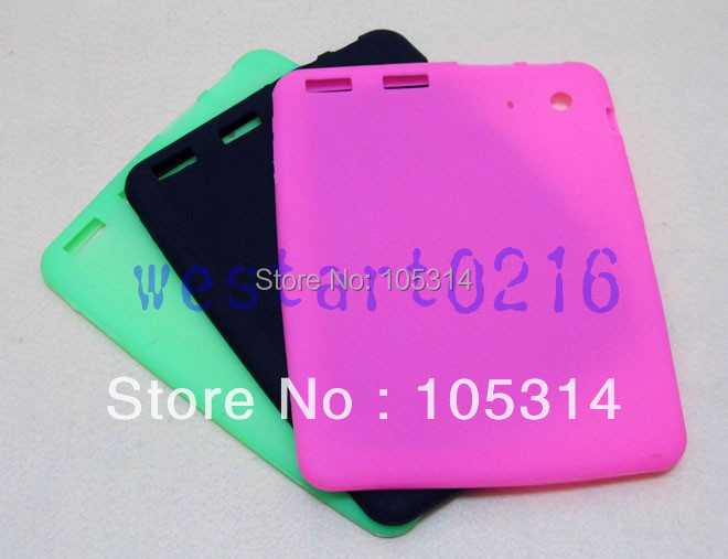 "New 8"" Silicone Case Cover For 8 inch tablet ATM7029 Quad Core Android MID Free Shipping(China (Mainland))"