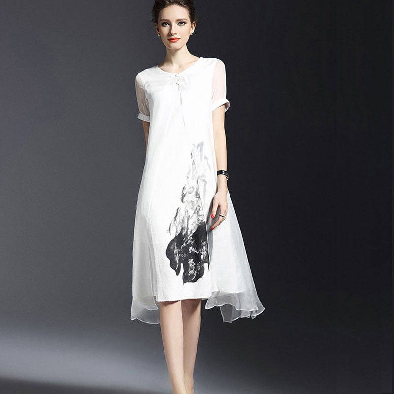 Pregnant Dress Maternity Cotton Dresses Clothing Top Clothes Women 2016 Flax Pregnancy for 2 Colors Blouses Fashion Summer New(China (Mainland))