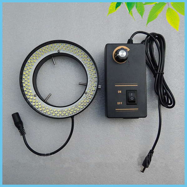 Large Inner Diameter 156 pcs LED Microscope White Ring Lamp White Color Ring Light with Adapter for Microscope Illumination<br><br>Aliexpress