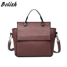 Buy Bolish New Arrival Vintage Trapeze Tote Women Leather Handbags Ladies Party Shoulder Bags Fashion Top-Handle Bags for $15.81 in AliExpress store