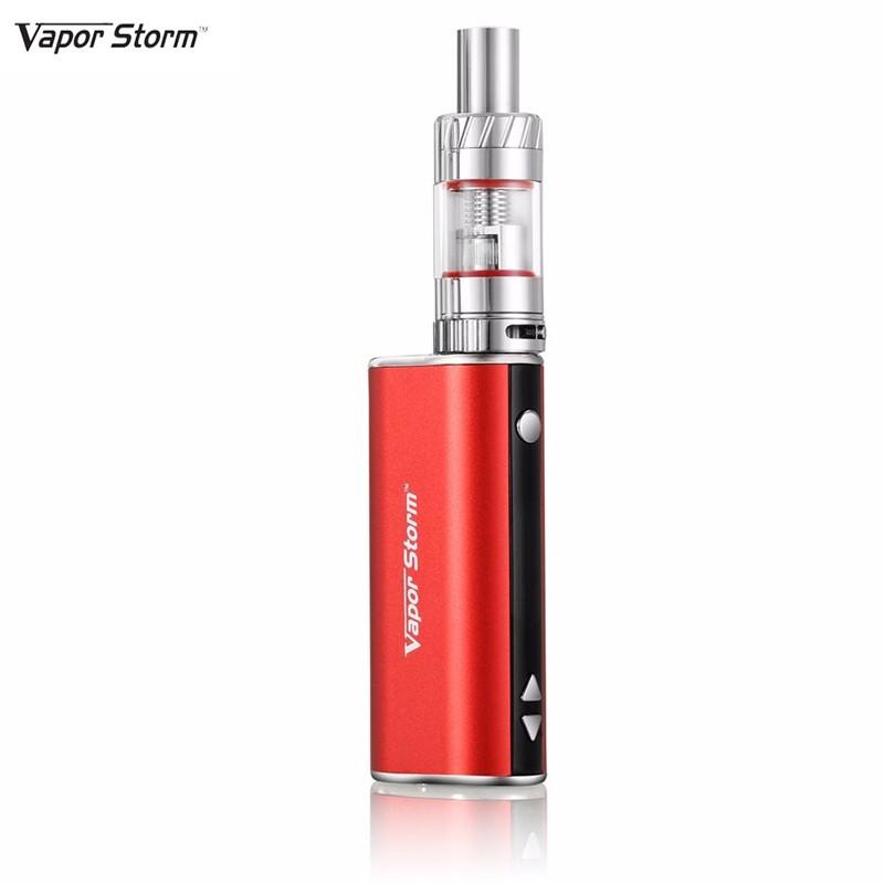 Vapor Storm Electronic Pen Shisha V30 30W Vapor Storm E-Cigarettes 2200mah Starter Kit Vape Hookha Pen Vaporizer (red color)(China (Mainland))