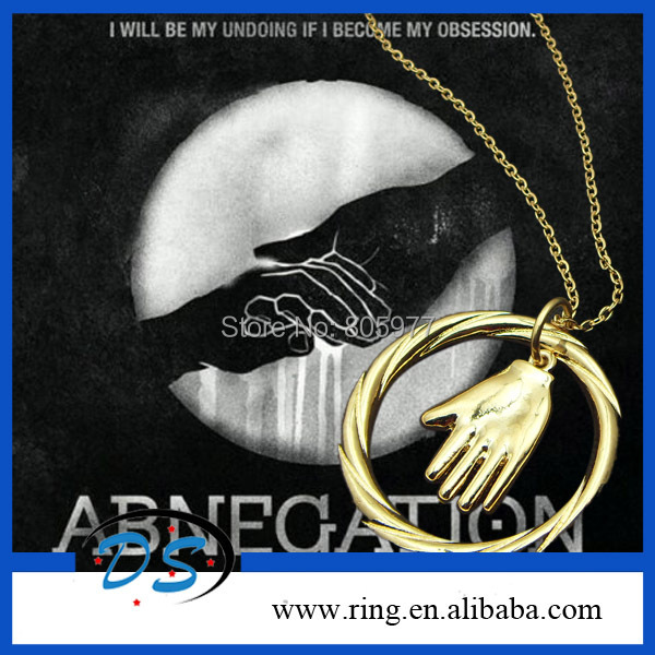 New Jewelry Freeshipping  Divergent necklace The Original Divergent inspired the Helping Hand Abnegation Necklace &amp; Pendant<br><br>Aliexpress