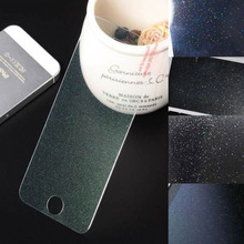 For iPhone 5S Clear Front Screen Protector Colorful Glitter Bling Sparkling Guard WHD1168-5S-4