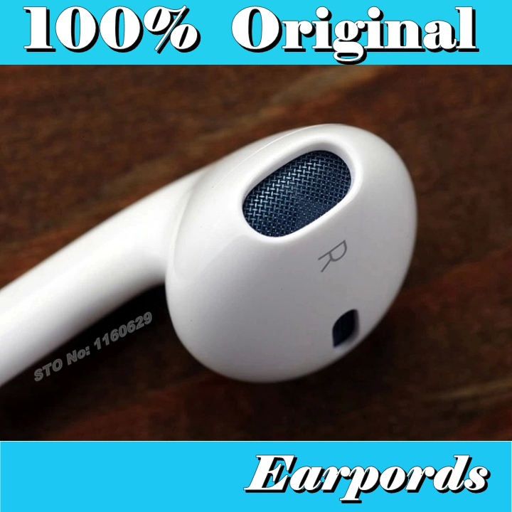Genuine Original Brand earpods in ear earphone headphones With Remote Mic ecouteur fone de ouvido for iphone 4 4s 5 5c 5s 6 plus(China (Mainland))