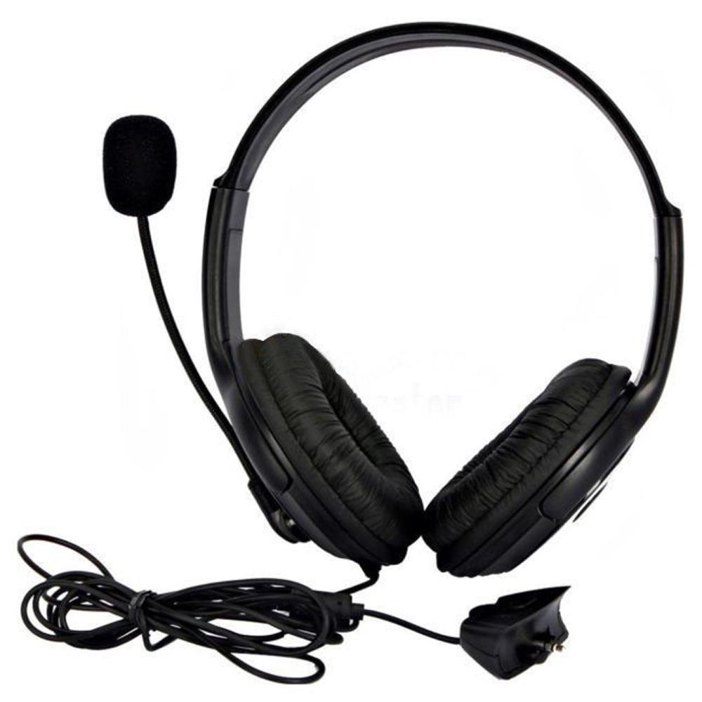 1pcs Live Big Headset Headphone With Microphone for XBOX for 360 for Xbox for 360 Slim Wholesale(China (Mainland))