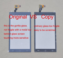 Original OGS 4.5''inch HD Touch Screen Digitizer Glass Capacitive Replacement for JIAYU G3 G3S G3T G3C + Free Shipping(China (Mainland))