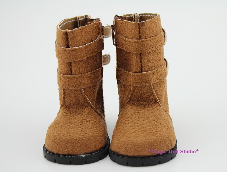 """[AM164] Free Shipping American Girl Doll Shoes # Light Brown Boots for 18"""" American Girl Doll Accessories(China (Mainland))"""
