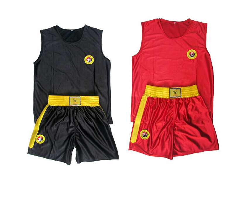 MMA Muay Thai Boxing Shorts Kick Boxing Pants Sanda Wushu Kungfu Trunks For Kids Children and Man(China (Mainland))