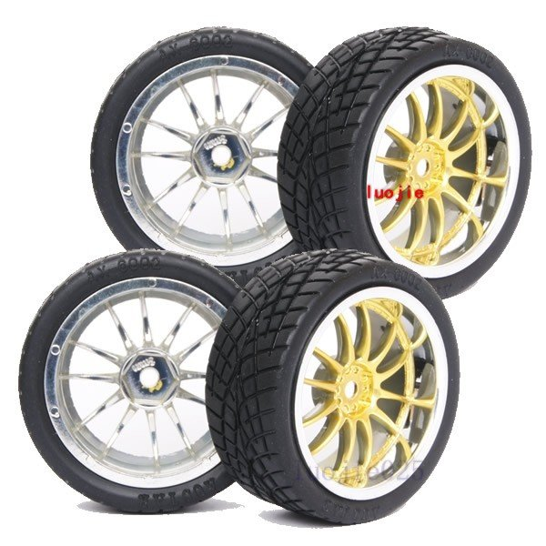 9003-8001 RC Rubber Sponge Speed Liner Tires Tyre Wheel Rim 1:10 1/10 On Road Model Car Tire HOBBY(China (Mainland))