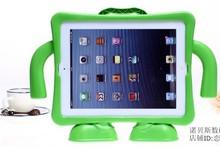 Дети дети сейф мягкий EVA пена рукоятка крышка чехол для ipad 2 3 4 9.7 дюймов