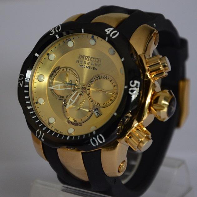 Nueva Moda Reloj de cuarzo relojes de goma populares hombres militar relogios invictafULingly funciones completas casual relogio masculino