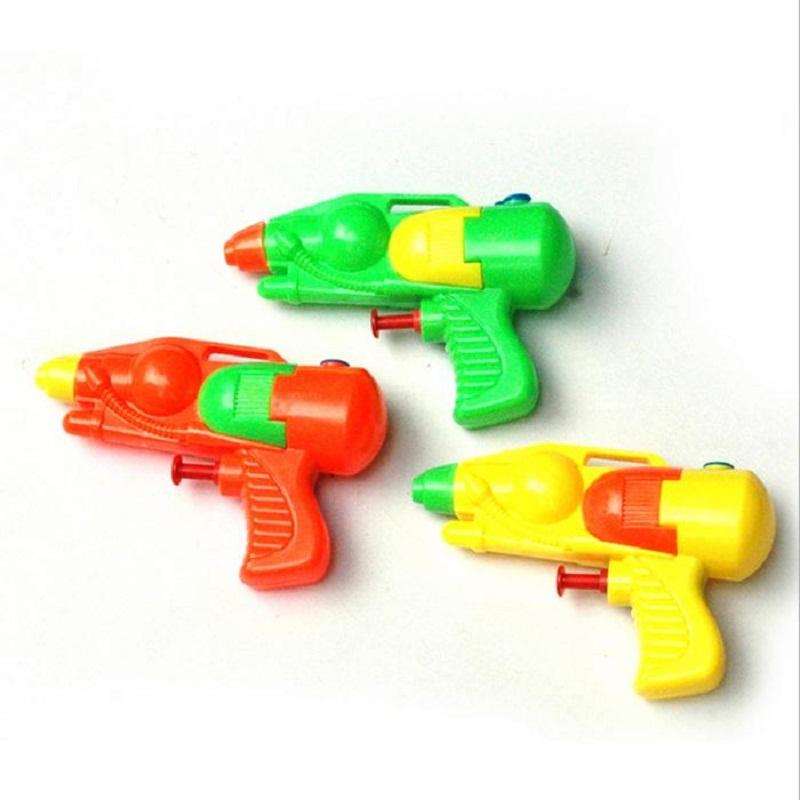 Lovely Classic Interesting Retro Small Plastic Water Gun Pistol Children/Kids Favorite Beach Sand Toy Funny(China (Mainland))