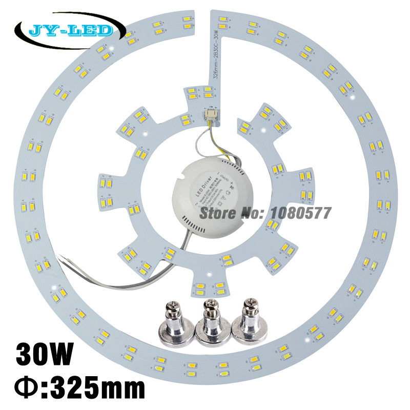 28w x2 LED Ceiling Light Remoulding Plate SMD 5730 Led pcb Retrofit Magnet Board With Driver and Magnetic Legs<br><br>Aliexpress
