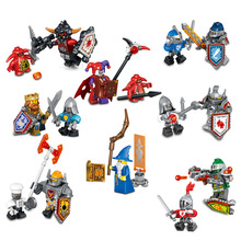 NEW Nexo Knights Future Shield Minifigures Building Blocks Castle Warrior Nexus Kids Toys Gift Compatible Legoe - Toy World Store store