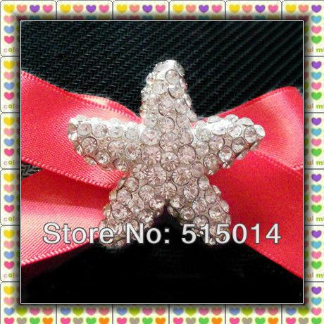 New Item!  Starfish  Rhinestone Bucklefor decoration,Wholesale !