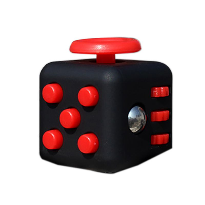 9 Colors Baby Original Fidget Cube Desk Toys Fidget Cube Anti Irritability Toy Magic Cobe Funny Kids Gift 2017(China (Mainland))