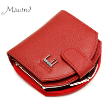 Buy 2017 Vintage Brand Luxury Genuine Leather Hasp Small Wallet Women Clutch Female Purse Money Bag Coin Credit Card Holder Cuzdan for $10.25 in AliExpress store